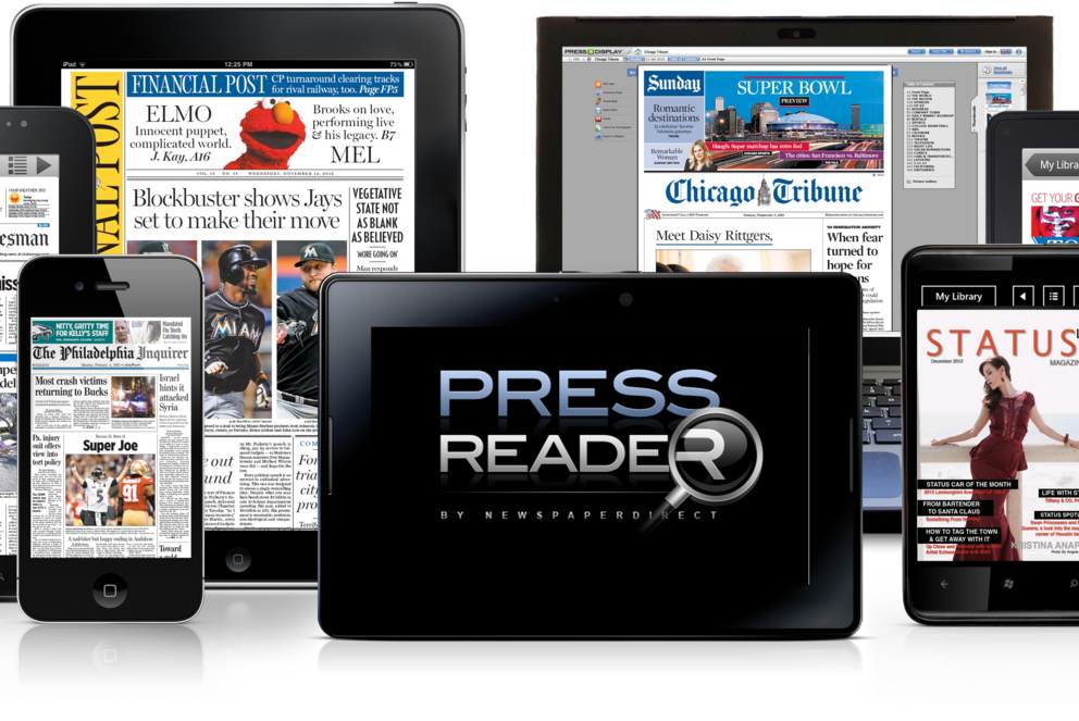PressReader - Thousands of newspapers and magazines